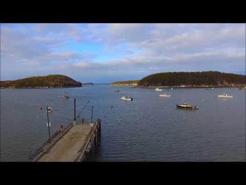 Machiasport, Maine Drone