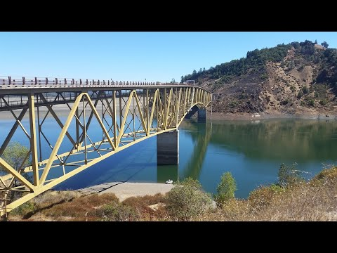 Lake Sonoma - Warm Springs Dam - Dry Creek Valley - 4K Drone Footage