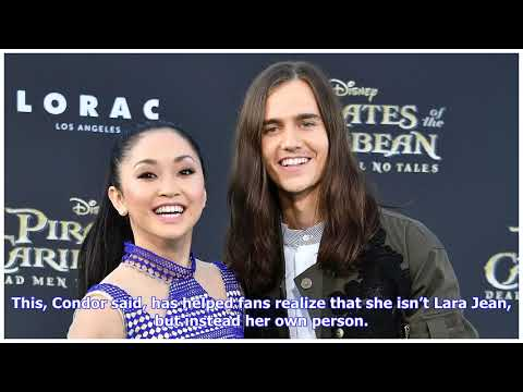 is lara jean dating peter