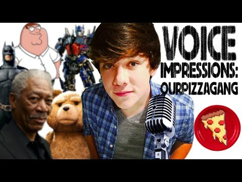 VOICE IMPRESSIONS by Jake Foushee from OurPizzaGang