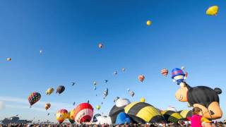 2015 Albuquerque International Balloon Fiesta Time-Lapse