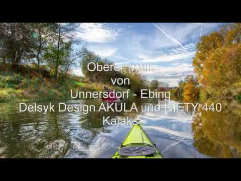Download Delsyk Design Kayaks AKULA und NIFTY 440 am oberen Main