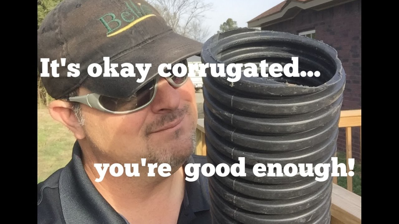 French Drain Tips Using Corrugated Pipe Youtube