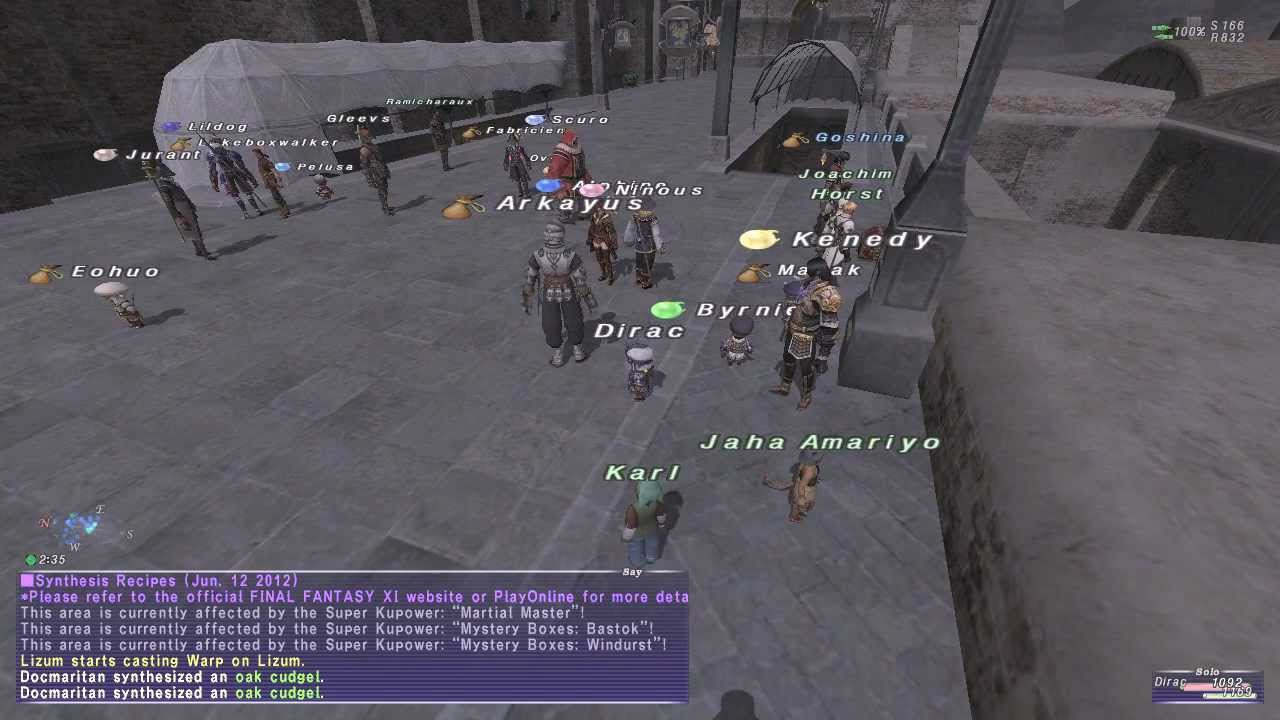 Final Fantasy 11 On Pc June 2012 Ffxi