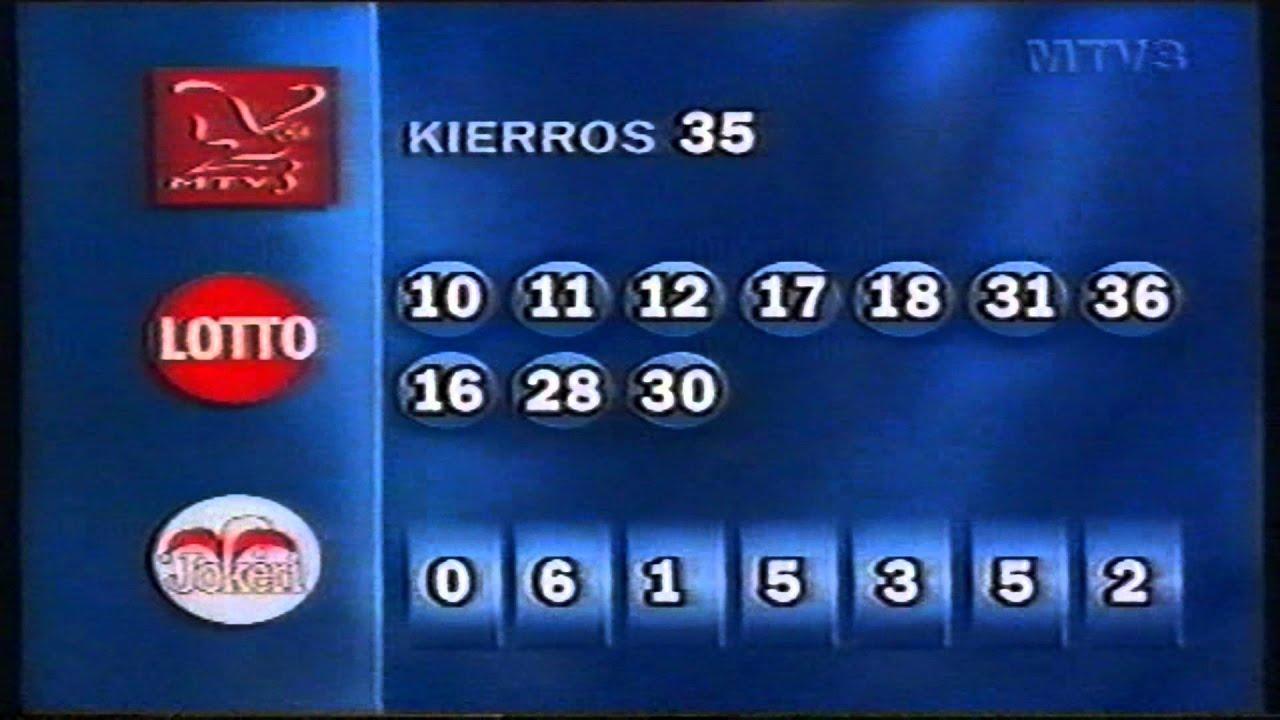 Mtv3 Lotto