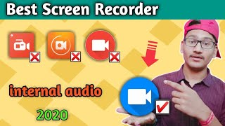 Best screen recorder app for android ।। Best app for record screen ।। internal audio record