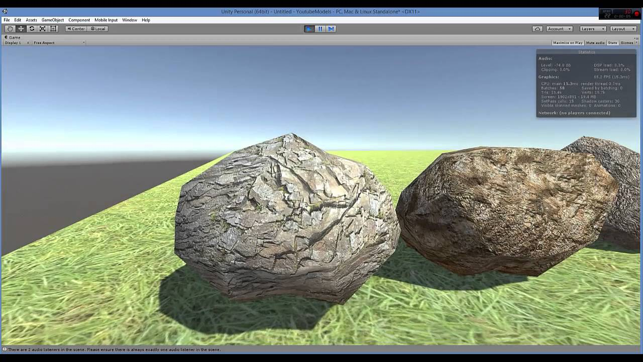 Free 3D Game Asset (Low Poly Rocks/ Unity 3D) Download