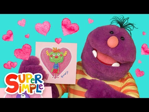 Celebrate Valentine's Day with Milo The Monster | Learn About Rhyming Words