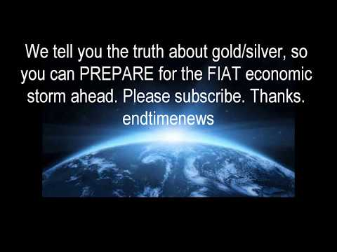 The future gold and silver price  Watch this video if you stack physical gold silver