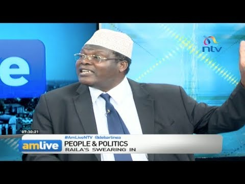 Nasa insists Raila Odinga will be sworn in & only then will he dialogue with Uhuru