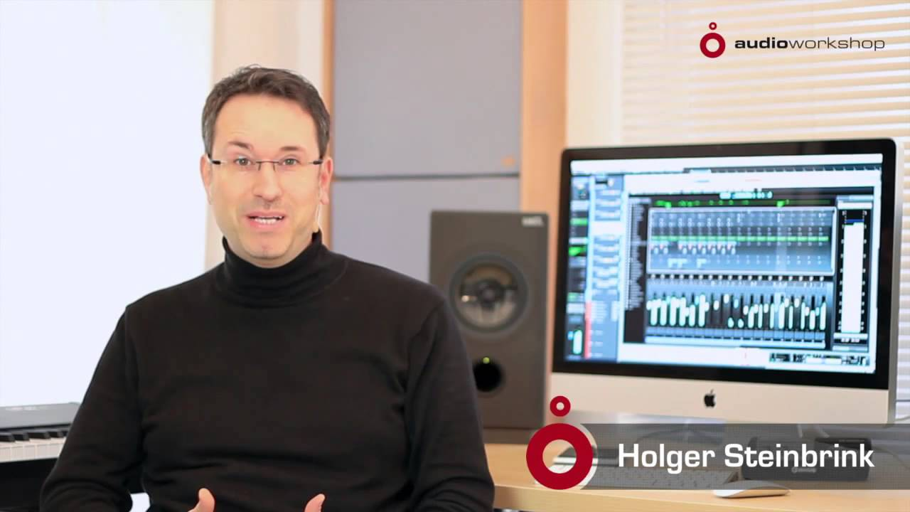 Cubase 7 new features video tutorials chapter 2 stellar mixing.