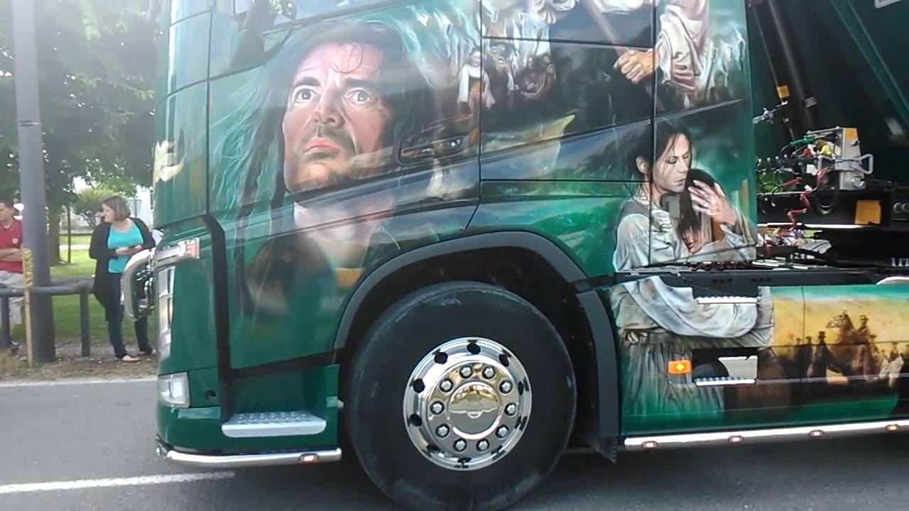 Camion De Peinture Decoration