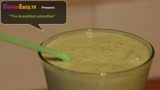 Recipe For Kiwi And Banana Smoothie, Easy And Perfect For Breakfast