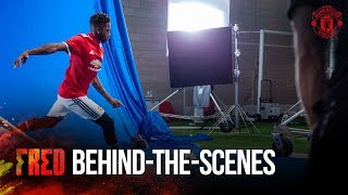 Behind The Scenes At Fred's First Day At Manchester United