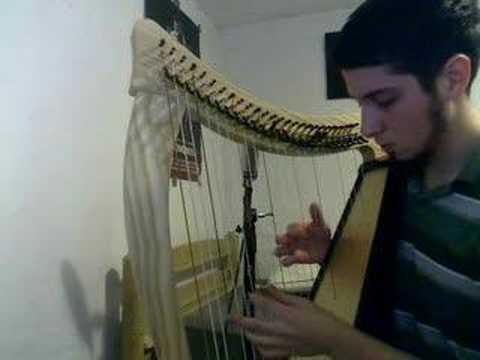 Extol Cover - Celestial Completion Bridge on Harp