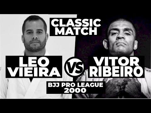 LEO VIEIRA JIU JITSU MATCH vs VITOR SHAOLIN RIBEIRO   Pro League 2000 OLD SCHOOL BJJ