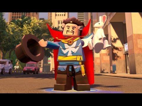 LEGO Marvel's Avengers - Doctor Strange Unlock + Free Roam (Character Showcase)