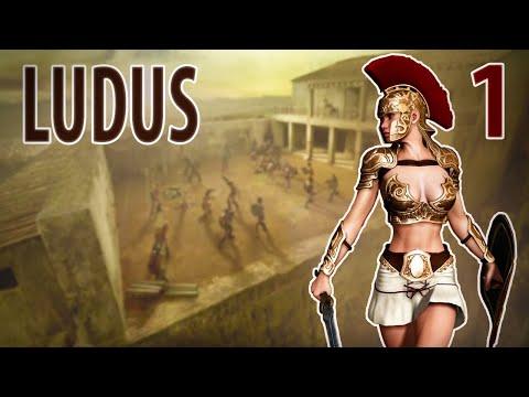 #1 Симулятор школы Гладиаторов ❊ Ludus