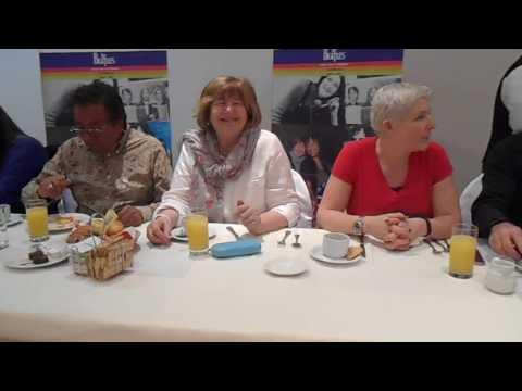 Beatle Desayuno con Freda Kelly,May Pang y Ringer 15 /12 / 16