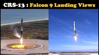 (CRS-13) Falcon 9 Landing - NASA & SpaceX Footage