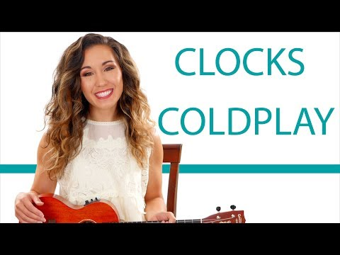 """Clocks"" By Coldplay - Ukulele Tutorial/Lesson With Play Along"