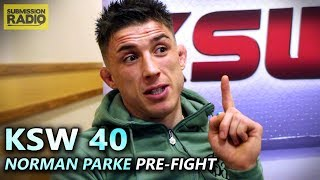 "KSW 40: Norman Parke Just Wants ""Fair Fight"" Without ""Tricks or Games"" in Gamrot Rematch"