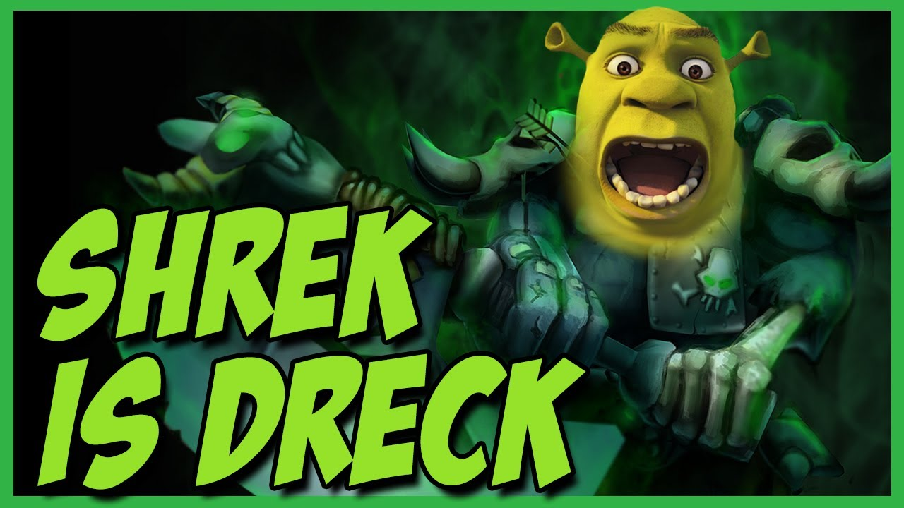 League of Legends: SHREK IS DRECK - YouTube