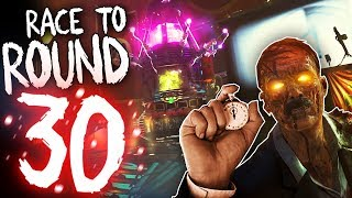 Call of Duty Zombies: RACE TO ROUND 30 - World Record Challenge!