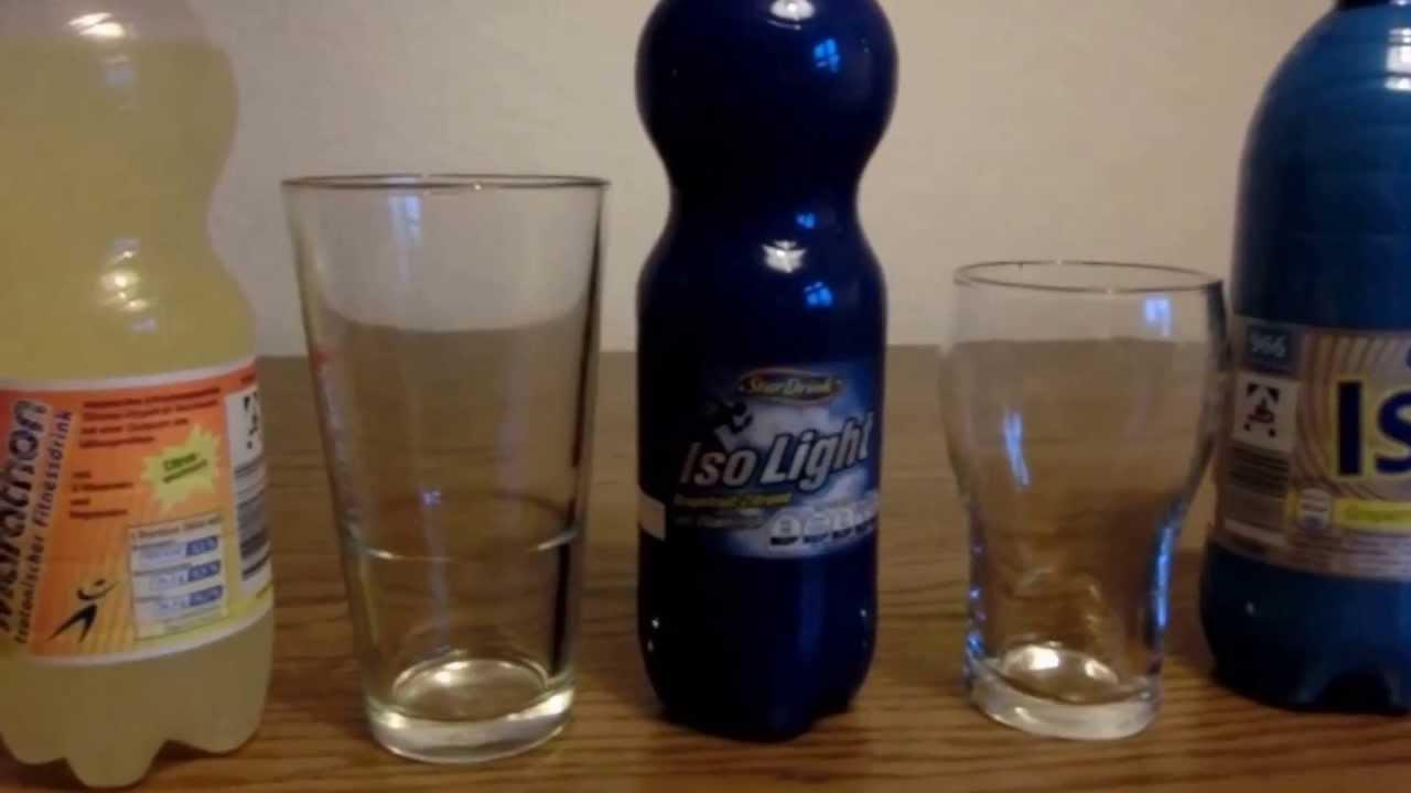 Sommer ISO-Light Getränke Review Durst - YouTube