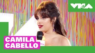 Camila Cabello on VMA Nerves & Best New Artist Nomination | 2018 Video Music Awards Pre-Show