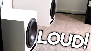 HOW LOUD ARE MY NEW SUBS?
