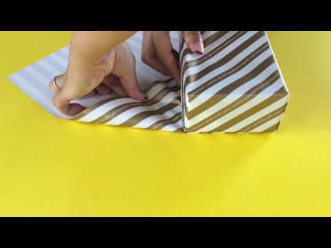 基本の斜め包みの方法