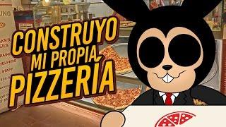 ROBLOX: EU CONSTRUO MINHA PRÓPRIA PIZZARIA 🍕 Pizza Tycoon! 2 JOGADORES!