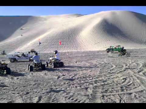Tacoma Double Cab >> Dumont Dunes Halloween 2010 comp hill - YouTube