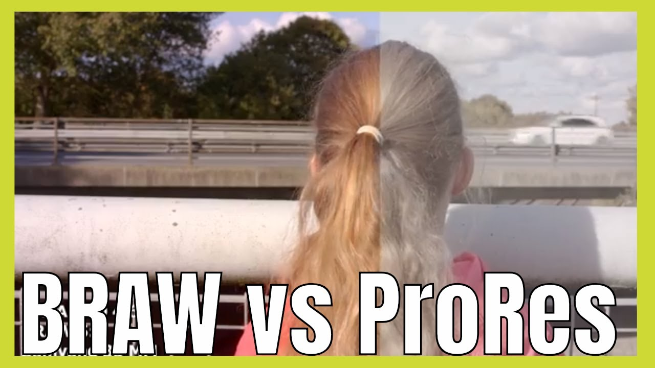 Blackmagic RAW vs ProRes what are the difference and which should you use ?