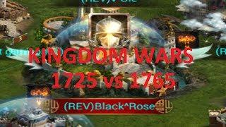 COK - Kingdom Wars 1725 vs 1765