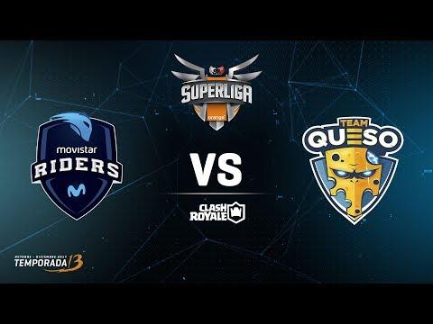 SUPERLIGA ORANGE  -  Movistar Riders vs Team Queso- Jornada 3 - #SuperligaOrangeCR3