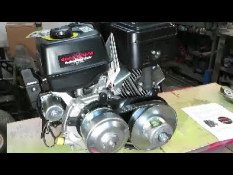 40 series torque converter install on predator 420cc