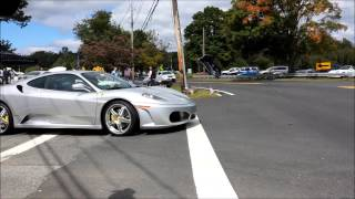 Exotic Cars Leaving 2013 Driven By Purpose For D.A.R.E