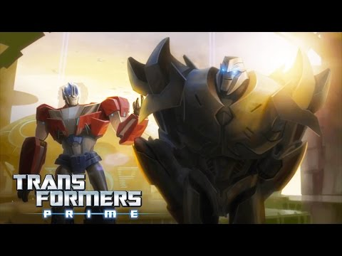 Transformers Prime - The Origin Story of Optimus Prime & Megatron