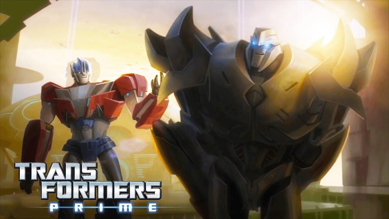 Transformers Prime - The Origin Story of Optimus Prime & Megatron