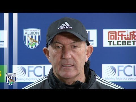 PRESS CONFERENCE: Tony Pulis previews Sunday's Premier League game against Liverpool