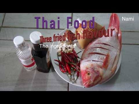 Fried Fish With Thai Special Three-Flavored Sauce (sweet + Sour + Spicy) - Pla Sam Rod - ปลาสามรส