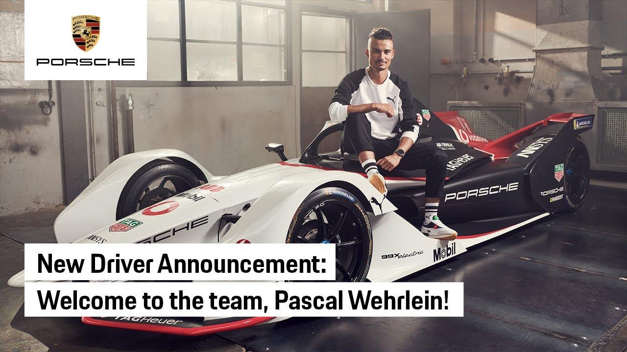 Welcome to the TAG Heuer Porsche Formula E Team, Pascal Wehrlein!