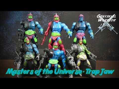 Masters of the Universe - Trap Jaw  collection