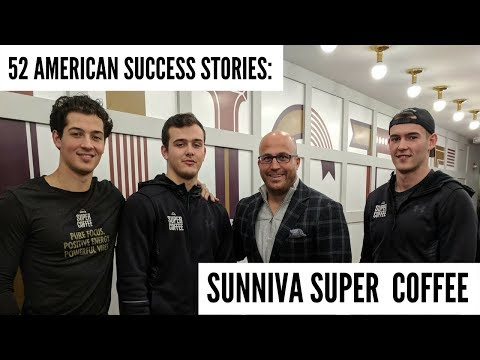 It's The First Super Coffee | 52 American Success Stories ft. Sunniva Super Coffee