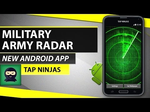 *FREE* Military Army Radar - Live Wallpaper - Android OS Phone - HD 2015