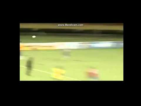 Guyana vs Costa Rica 12/6/2012- Saborio's Faceplant Fail. OUCH!! World Cup CONCAF 2014
