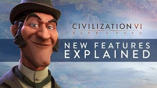 Civilization Vi: Rise And Fall - New Features Explained  Full Details