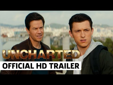 UNCHARTED Official Trailer (2022) Featuring Tom Holland, Mark Wahlberg, Sophia Ali